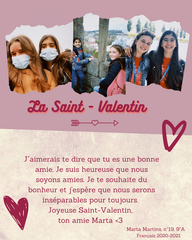 """La Saint-Valentin"""