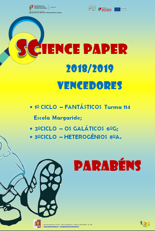 Science Paper - Vencedores