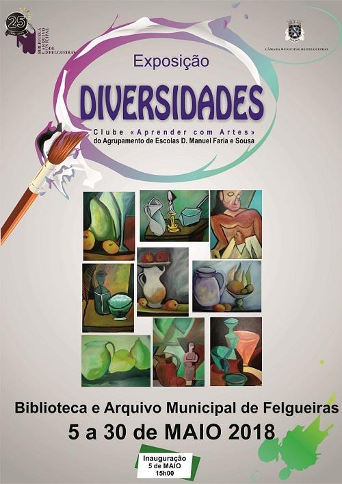 """Clube """"Aprender com Arte"""" - Exposição Diversidades"""